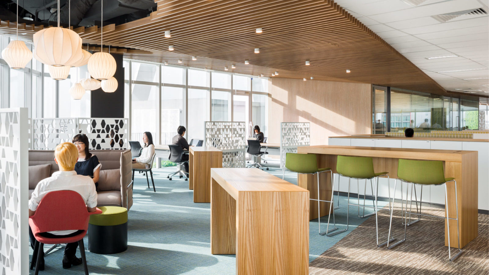 co-working space by Merx