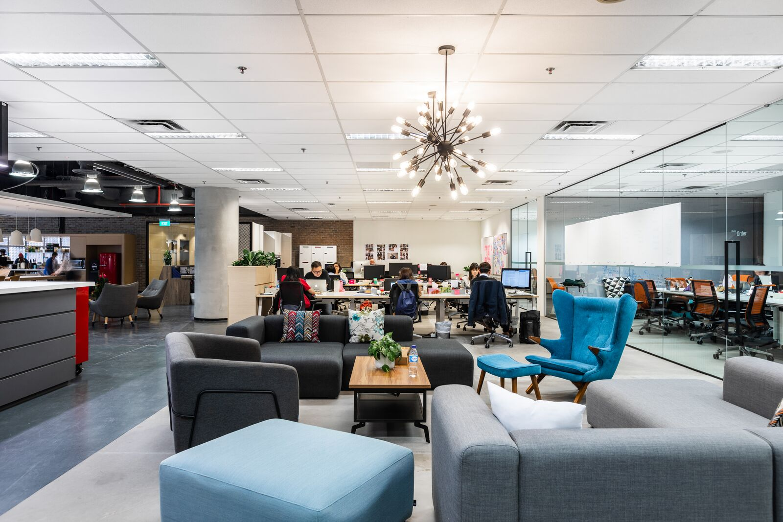 office space designed by Merx