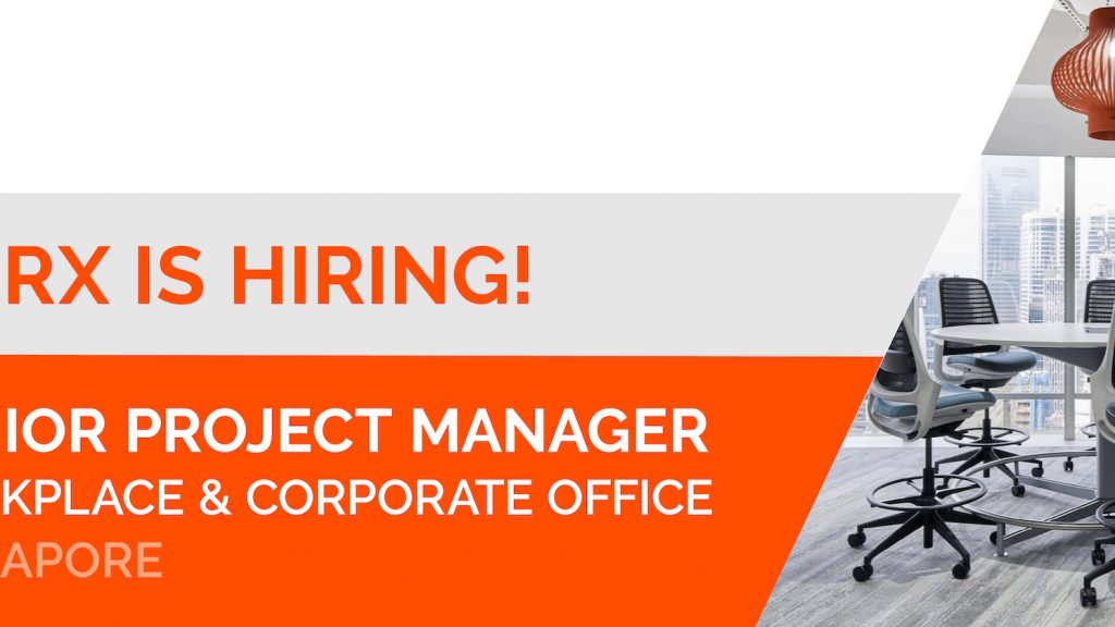 Senior Project Manager Workplace & Corporate Office Singapore